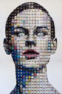 Pinzellades al món: Art i informàtica: retrats de Nick Gentry / Arte e informática: retratos de Nick Gentry / Art and computing: Pictures of Nick Gentry