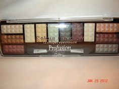 PROFUSION Color Me Glow Eye Shadow Kit 12 Shades  . Starting at $5 on Tophatter.com!