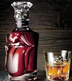 limited edition blended whisky to mark the 50th anniversary of the Rolling Stones and priced at a cool $6300.
