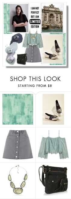 """kailey in Rome"" by artistic-biscuit ❤ liked on Polyvore featuring Designers Guild, Bettie Page, Miss Selfridge, H&M, Kim Rogers and MKF Collection"