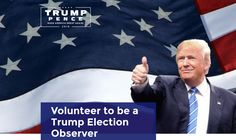 Trump Now Recruiting Volunteers, Raising Money Off Dangerous Election 'Rigging' Claims