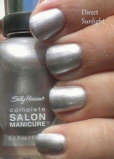 Sally Hansen Complete Salon Manicure Pedal to the Metal. The formula and brush for this polish is FANTASTIC. #sallyhansen #nailpolish