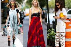 Spring-Summer 2015 street fashion trends