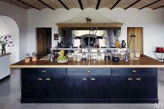 Una cocina rústica en las montañas italianas
