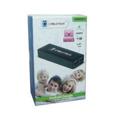Cabletech Smart TV Android dongle URZ0351 - przystawka z systemem Android i BT