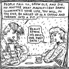 Lynda Barry | I remember reading this in the Baltimore City Paper and loving the mind and hand that came up with it!