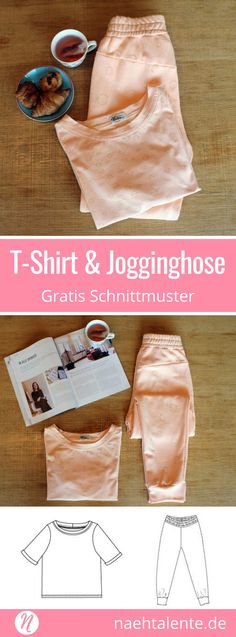 Freebook - T-Shirt und Jogginghose