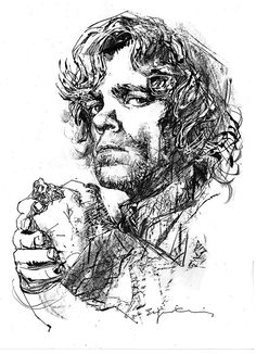 Game of Thrones - Tyrion by Bill Sienkiewicz *