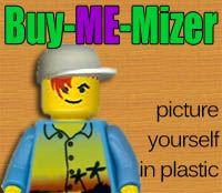 Make a printable customizable lego figure ( Classic Mini-Mizer ) or you can order a customized lego ( Buy-ME-Mizer )