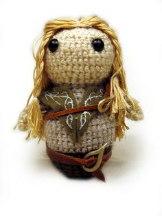 Legolas// I'll try to learn to tiny crochet for you, @Heather Pence