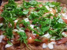 Foodie in Translation: La Rubrica del Lunedì: Pizza salmone e rucola