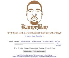 AHOY! KANYE WEST NOW HAS HIS OWN PIRATE BAY