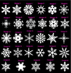 snowflake designs - Google Search