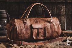 "Leder Reisetasche 24""/ Duffle Tasche Leder / Leder Sporttasche / Gym Bag / Kabine Reisetasche / Weekender Bag / Übernachtung Bag / Tasche Leder"