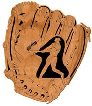 Baseball Glove -- Scroll Saw Pattern