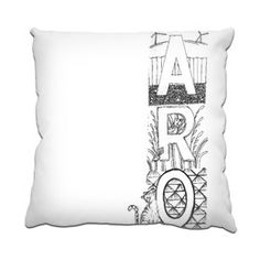 Lola in AroWellingtonNZ Cushion