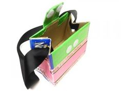 Kids Craft: Fashion Purses from Recycled Capri Sun Boxes