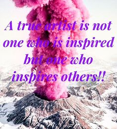 A true artist is not one who is inspired but one who inspires others!! Unknown  Be the artist of this world and do well to inspire people around you older and younger generation because we all leave a trace behind in this world may yours be Greatness and Exemple!!  . Follow @wealthlilyhealthy - Credit to the photographer  - #nutrition #nutritionist #nutritional #nutritioncoach  #nutritiongoals #fitness #fitnessmotivation #fitnesslife #fitnessgoals #fitnessgirl #sport #sporty #health…