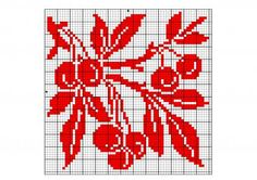 Square 51   Free chart for cross-stitch, filet crochet   Chart for pattern - Gráfico