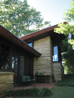 Wright Usonian home.