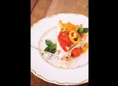 Savory tomato pies (Photo by: Joey and Jessica on Southern Weddings via Lover.ly)