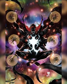 """NoMoreMutants on Instagram: """"The end of all things Dr. Strange Venomized @rbsilva_comics @israelsilvaart #marvelcomics #Comics #marvel #comicbooks #avengers…"""""""