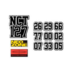 Tune to the channel NCT Boom your style with NCT 127 embroidery patch set. Pop Stickers, Tumblr Stickers, Printable Stickers, Logo Sticker, Sticker Design, Nct 127, Nct Logo, Overlays, Blue Aesthetic Pastel