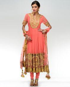 Salmon+Pink+Gota+Embroidered+Kalidar+Suit+by+Preeti+S.+Kapoor.jpg (554×688)