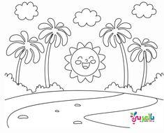 اوراق عمل للتلوين عن الربيع للاطفال رسومات للطباعة عن فصل الربيع Coloring Books Mandala Coloring Books Kids Coloring Books