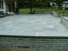 Bluestone and Flagstone Patios, Kleinberg Landscaping, Delaware County, Flagstone Patio Contractor and Builder, Bluestone Patios Philadelphia, Chester County, Montgomery County, Main Line, PA