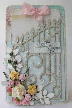 paper flowers, handmade card, art and craft, inspiration, flowers, For My handmade greeting cards visit me at My English Personal blog: http://stampingwithbibiana.blogspot.com/