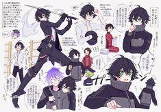 Touken Ranbu, Character Design Inspiration, Drawing People, Manga Art, Cute Boys, Anime Characters, Concept Art, Art Drawings, Kawaii