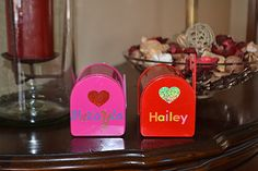 Decorate little mailboxes for leaving love notes and treats for each other.  :)