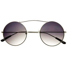 Cool Unisex Steampunk Retro Vintage Round Sunglasses R3210 (3.927 KWD) ❤ liked on Polyvore featuring accessories, eyewear, sunglasses, round sunglasses, retro style glasses, vintage sunglasses, round frame glasses and vintage glasses