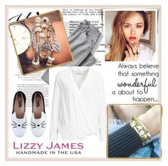 """Lizzy James #10"" by damira-dlxv ❤ liked on Polyvore featuring Lands' End, By Malene Birger, Lizzy James, Karl Lagerfeld and lizzyjames"