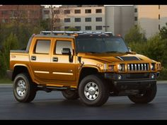 """Hummer. The car that should have only ever come in one color to announce the presence of its driver from far away. You guessed it; """"gaping asshole"""" is the color."""