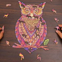 Wooden Puzzles - Owl