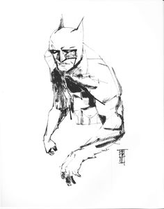 Batman - Alex Maleev Comic Art
