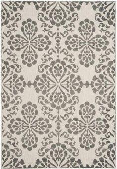 Safavieh Cottage COT908C Cream / Grey Rug