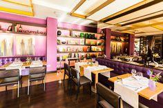 seven&six en #Madrid #restaurantes #planesenmadrid #decoración #pink
