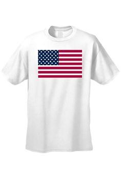 cf2d2fdf Unisex United States of America Flag Pride USA Short Sleeve T-shirt -  SHORETRENDZ Usa