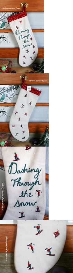 Stockings and Hangers 170091: Pottery Barn Kids Luxe Velvet Red ...