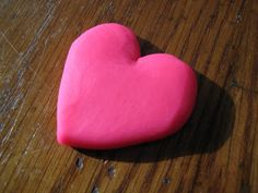 4 Crazy Kings: How To Make A Quick Clay Heart