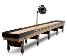 Grand Hudson 22ft Shuffleboard Table - http://www.crackformen.com/grand-hudson-22ft-shuffleboard-table-5598, #mancave