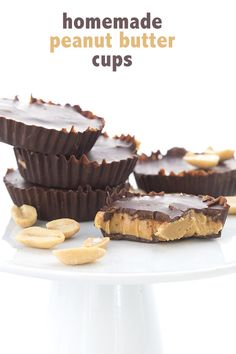 Best low carb sugar-free Peanut Butter Cup recipe. Homemade and delicious! LCHF Keto THM Banting. via @dreamaboutfood
