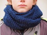 Ja spravím  kruhový háčkovaný pánsky/chlapčenský šál  - Jaspravim.sk Inspire, Crochet, Winter, Inspiration, Fashion, Winter Time, Biblical Inspiration, Moda, Fashion Styles