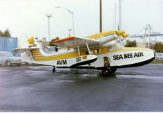 Sea Bee Air (New Zealand) Grumman Widgeon ZK-AVM at Mechanics Bay, Auckland on 9 May 1978. Photo : F B Gavin Amphibious Aircraft, Air New Zealand, Flying Boat, Auckland, Old Photos, Aviation, Swimming, Wings, Bee