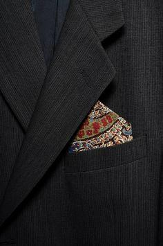 Pomp & Ceremony, set of three pocket squares handkerchief, Liberty of London prints 3 Liberty Of London, Pocket Squares, Brooch, Prints, Accessories, Etsy, Fashion, Moda, Fashion Styles