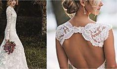 Vestidos de novia hechos a crochet   Bodas