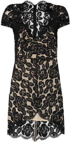 lover Rosebud Lace Dress - Lyst
